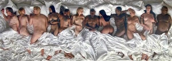 Kanye West famous nude