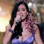 Katy Perry Bounces Her Breasts While Singing