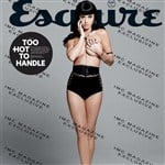 Katy Perry Topless In Esquire Magazine