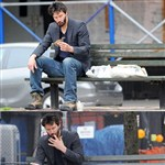 Keanu Reeves Eats A Bird