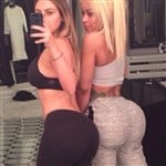 Kim Kardashian Posts Yoga Pants Booty Pics