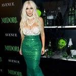 Kim Kardashian As A Fat Blonde Whore For Halloween