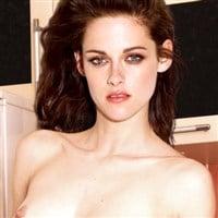 Kristen Stewart Strips Naked In The Kitchen