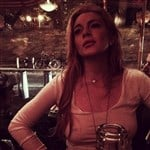 Lindsay Lohan Niply For Instagram