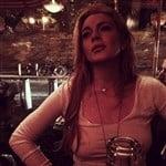 Lindsay Lohan Niply For Instagram