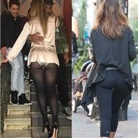 Mariah Carey And Jessica Alba MILF Ass Display