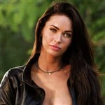 Megan Fox Nip Slip In Leather Jacket