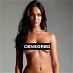 Megan Fox Posing In A Nude Photo