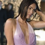 Megan Fox Nips Out In A Wet Dress