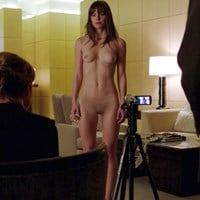 Melissa Benoist Fully Nude Behind-The-Scenes Outtake