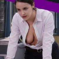 Melissa Fumero Behind-The-Scenes Nip Slip And Nude Photos