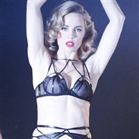 Melissa George Pussy Slip In See Through Lingerie