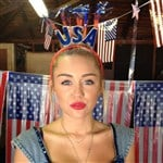 Miley Cyrus Mocks America On The 4th Of July