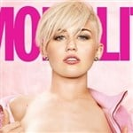 Miley Cyrus Nude On The Cover Of Cosmo