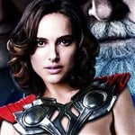 Natalie Portman Naked For 'Thor 2' Movie Poster