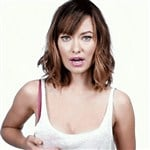 Olivia Wilde Caught Jiggling Her Boobs