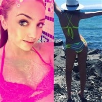 Peyton List And Ryan Newman: Disney Teen Bikini Battle