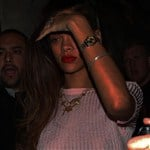 Rihanna Wears See Thru Top No Bra
