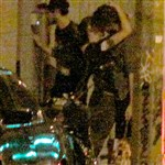 Robert Pattinson Kristen Stewart Kiss Staged