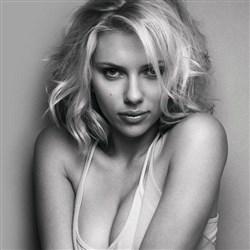 Scarlett Johansson In A Classy Black & White Sex Tape