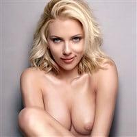 Scarlett Johansson Mischievous Nude Photo