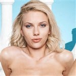Scarlett Johansson Naked With Her Legs Spread