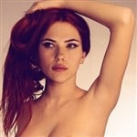 Redhead Scarlett Johansson Naked Photo