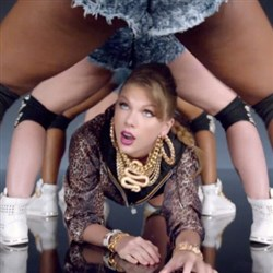 Taylor Swift's X-Rated 'Shake It Off' Music Video