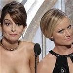 "Tina Fey & Amy Poehler's Nude Surprise For ""Golden Globes"""