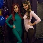 Victoria Justice & Ariana Grande In Leotards