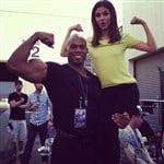 Victoria Justice With Her New Black Boyfriend