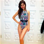 Victoria Justice Shows Off Her Legs In A Leotard