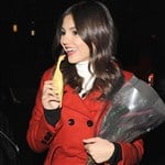 Victoria Justice Caught Choking The Chicken