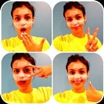 Victoria Justice Wears Dried Up Facial