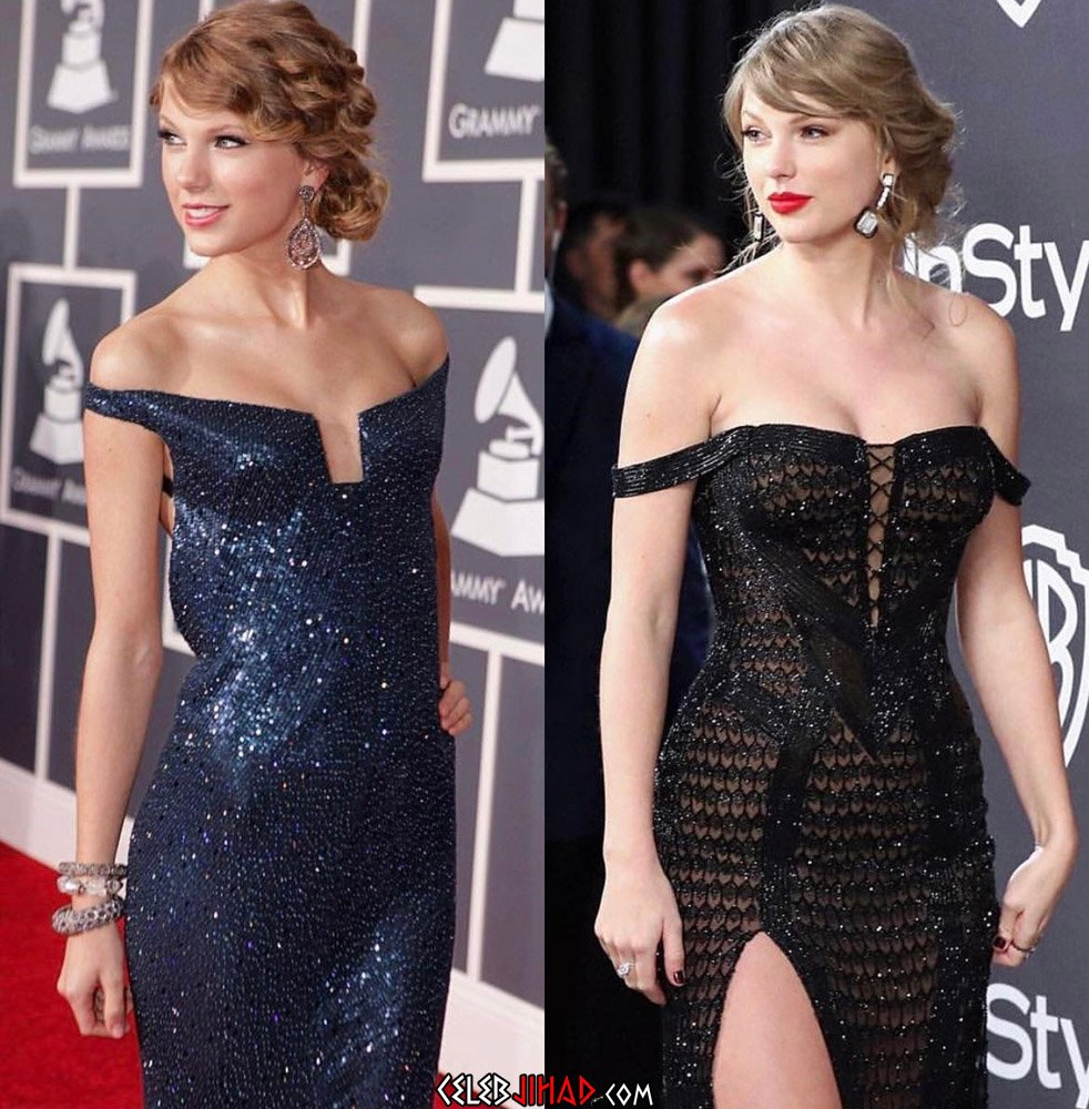 Taylor Swift Loves Showing Off Her New Big Boobs