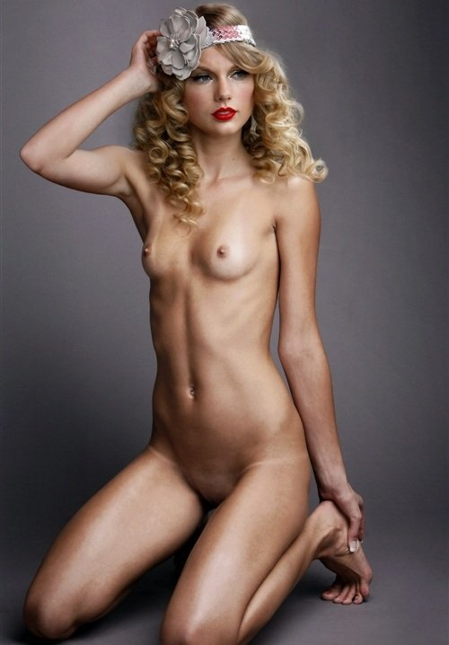 Taylor Swift Does Artsy Naked Picture