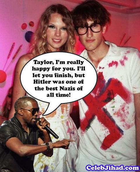 Taylor Swift Kanye Nazi