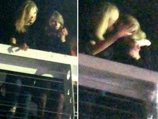 Taylor Swift Karlie Kloss kiss
