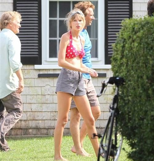 Taylor Swift Offends Kennedy Family With Slutty Bikini
