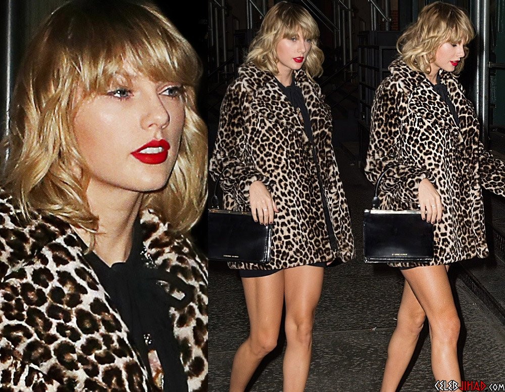 """Taylor Swift Deleted Nude Scene From """"Cats"""""""