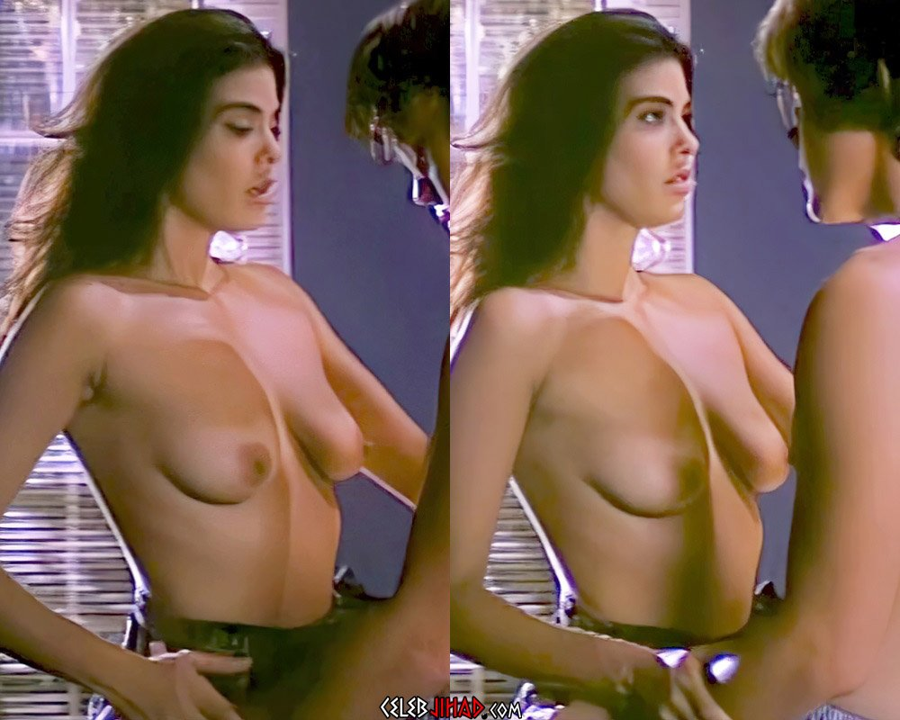 """Betsy Russell Nude Scenes From """"Private School"""" Enhanced In 4K"""