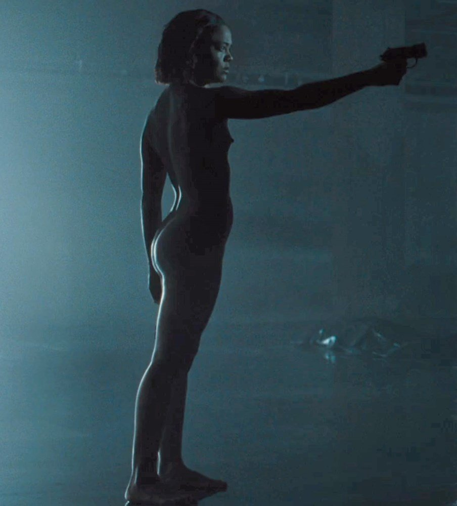 "Tessa Thompson Fully Nude Scene From ""Westworld"""