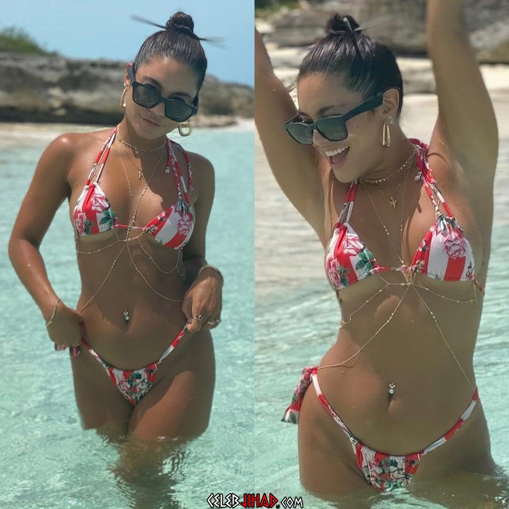 Vanessa Hudgens Thong Bikini Vacation Pics