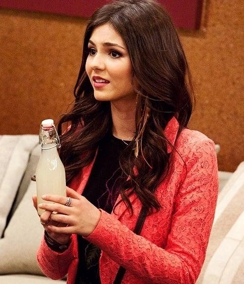 Victoria Justice bottle