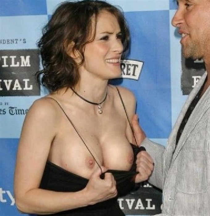 Winona Ryder boobs