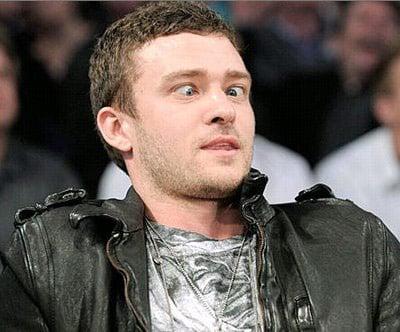 Justin Timberlake sex face