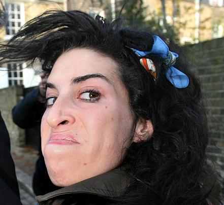Amy Winehouse sex face