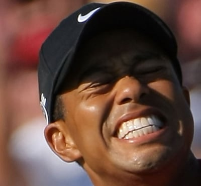 Tiger Woods sex face
