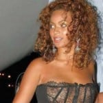 Beyonce Wears See Through Top No Bra