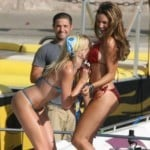 Kelly Brook Caught Fondling Her Hot Friend